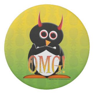 OMG Evil Penguin eraser for your office or school