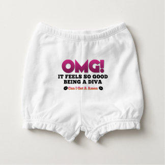 OMG Feels So Good Being A Diva  Diaper Cover