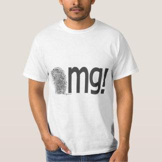 omg fingerprint text T-Shirt