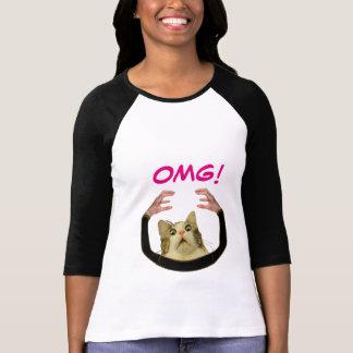 OMG! funny women's T-shirt
