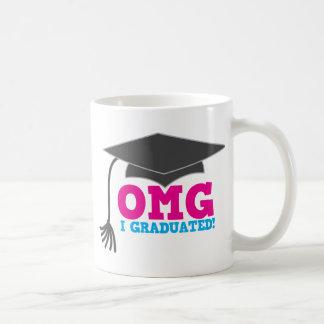 OMG I GRADUATED! great graduation gift Mugs