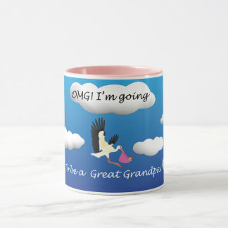 OMG I'm going to be a great grandma Mug