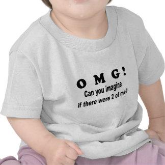 omg imagine 2of me shirt