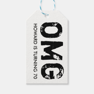 OMG It's Your Birthday Gift Tag - Over the Hill Pack Of Gift Tags