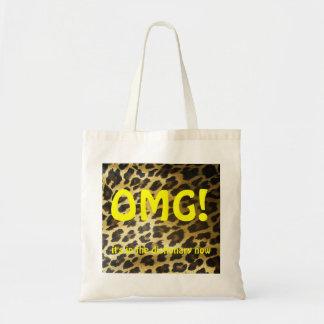 OMG  Leopard Tote Bag
