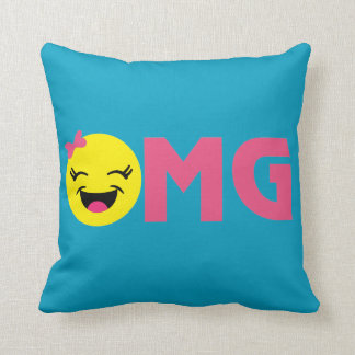 OMG LOL Cute 2 Sided Pillow