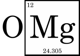 Magnesium periodic table science gifts on zazzle ca omg magnesium mg periodic table card urtaz Choice Image