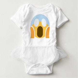 OMG Maupassant Emoji Baby Bodysuit