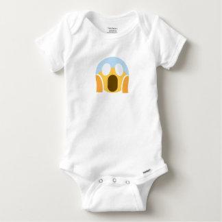 OMG Maupassant Emoji Baby Onesie