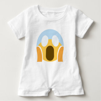 OMG Maupassant Emoji Baby Romper