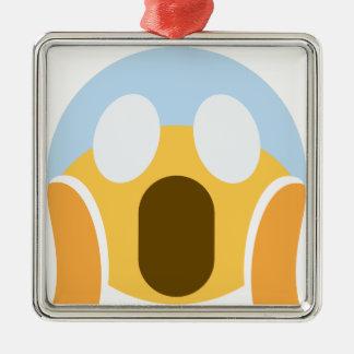 OMG Maupassant Emoji Metal Ornament