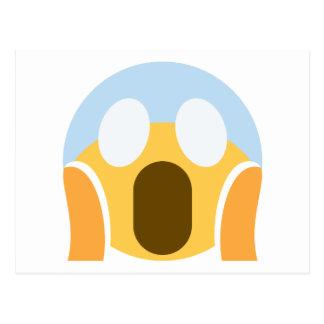 OMG Maupassant Emoji Postcard