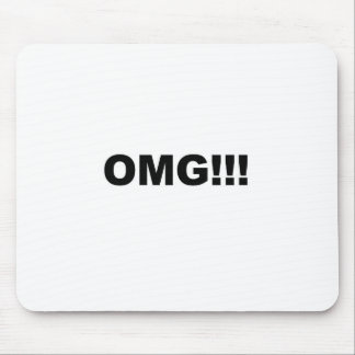 OMG!!! MOUSE PAD