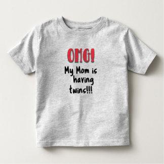 OMG! My Mom is Having Twins T Shirt