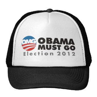 omg obama must go 2012 trucker hat