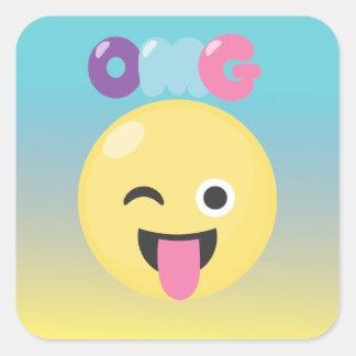 OMG Ombre Emoji Stickers