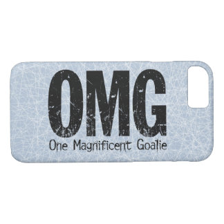 OMG: One Magnificent Goalie (Hockey) iPhone 7 Case