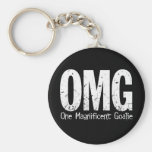 OMG: One Magnificent Goalie Keychains