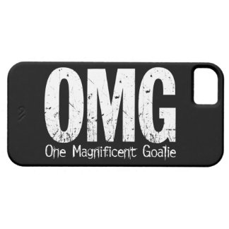 OMG: One Magnificent Goalie (Soccer) iPhone 5 Case