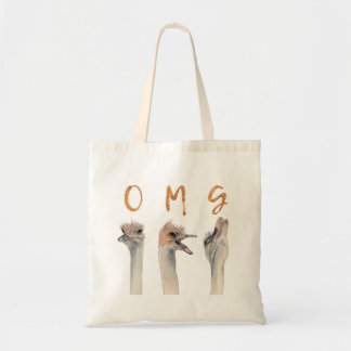 OMG Ostriches Tote Bag