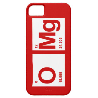 OMg PERIODIC Case For The iPhone 5