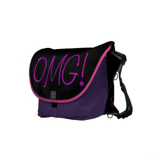 OMG! Rickshaw Messenger Bag