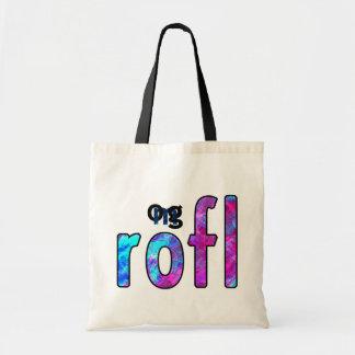 OMG! rofl Tote Bag