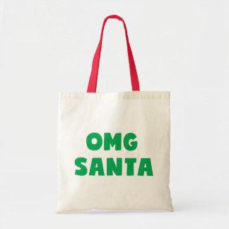 OMG Santa Tote Bag