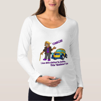 OMG SHITHOLE MATERNITY SHIRT