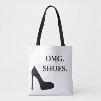 OMG shoes Tote Bag