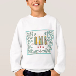 OMG . . . vintage styled graphic expression Sweatshirt