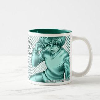 Omi, monochrome logo mug