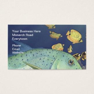 Omilu (Bluefin Trevally) Business Card