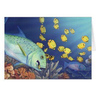 Omilu (Bluefin Trevally) Card