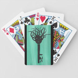 Ominous Key Poker Deck