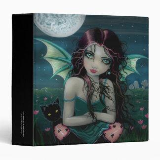 Ominously Sweet Vampire Fairy Binder