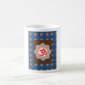 OmMANTRA Mantra Art Temple Hinduism Buddhism Bless Mug
