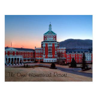 Omni Homestead Resort Postcard