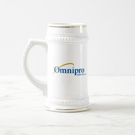 Omnipro Services White Stein Mug