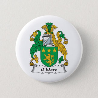 O'More Family Crest 2 Inch Round Button