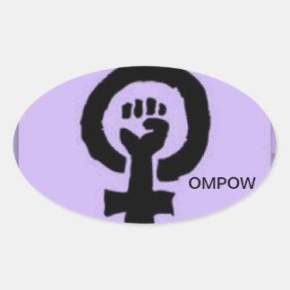 OMPOW sticker