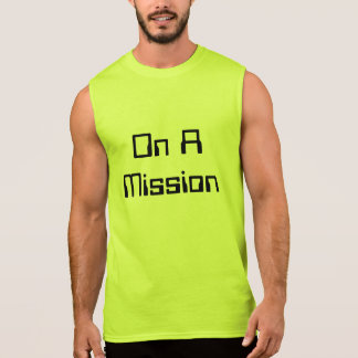 """""""On A Mission"""" Ultra Cotton Sleeveless T-Shirt"""