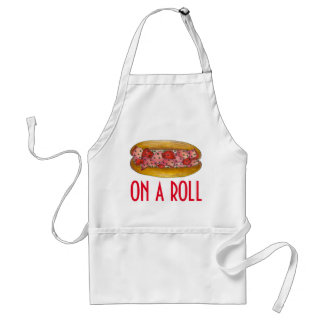 On a Roll Maine Lobster Roll Sandwich Seafood Standard Apron