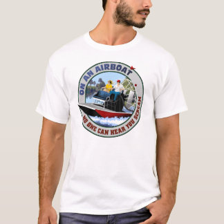 On an Airboat T-Shirt