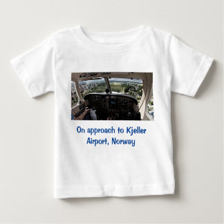 On approach to Kjeller Airport, Norway Shirt