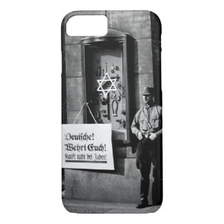 On April 1st, 1933, the boycott which_War image iPhone 7 Case