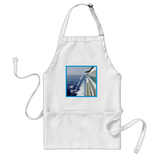 On Balcony Row Personalized Standard Apron