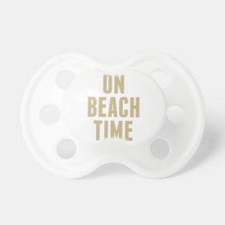 On Beach Time Pacifier