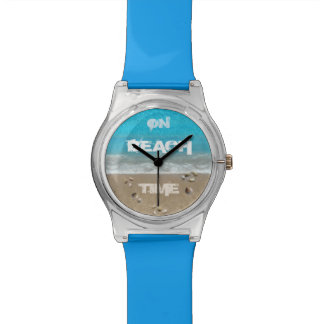 On Beach Time Wristwatch