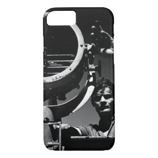 On board the USS SANDLANCE on_War Image iPhone 7 Case